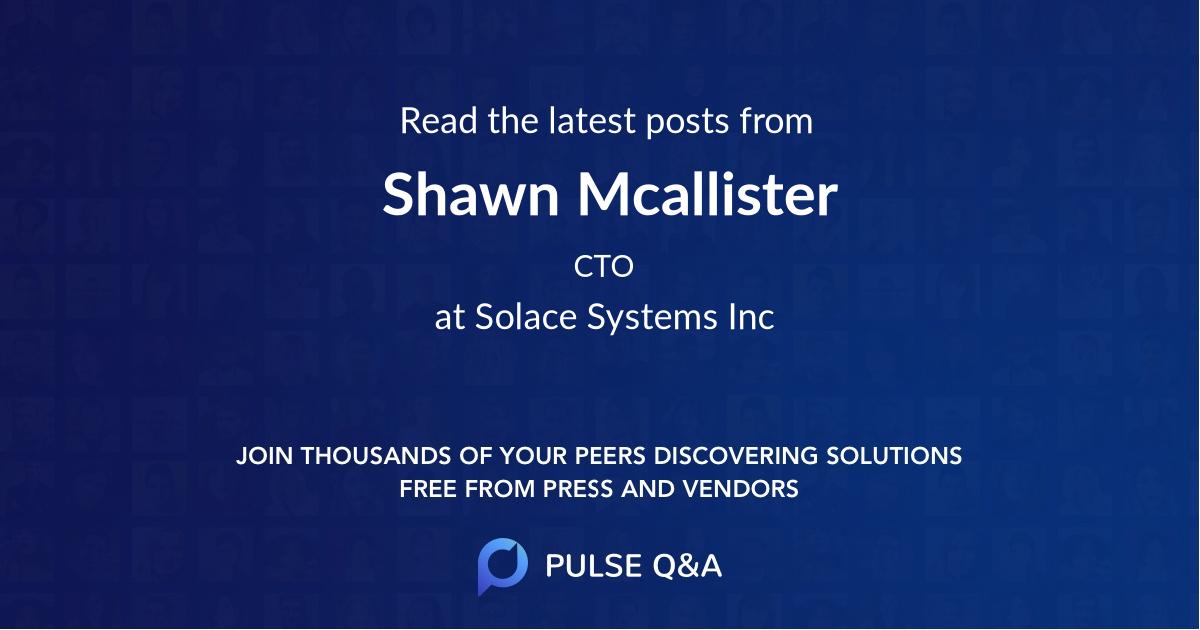 Shawn Mcallister