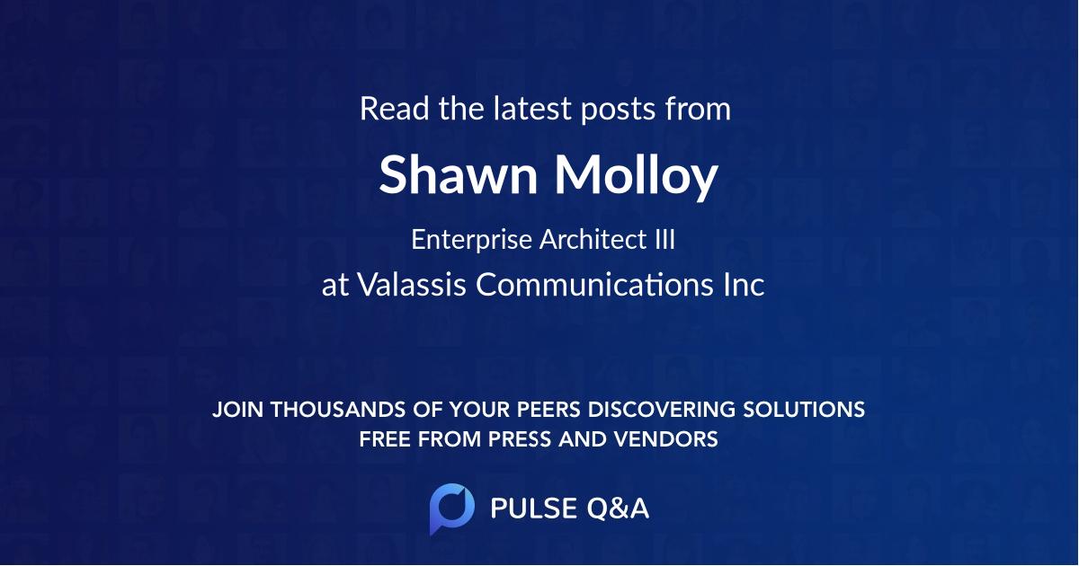 Shawn Molloy