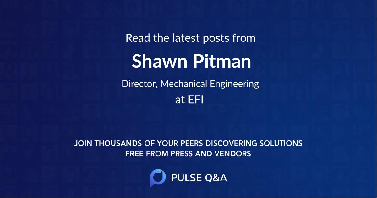 Shawn Pitman