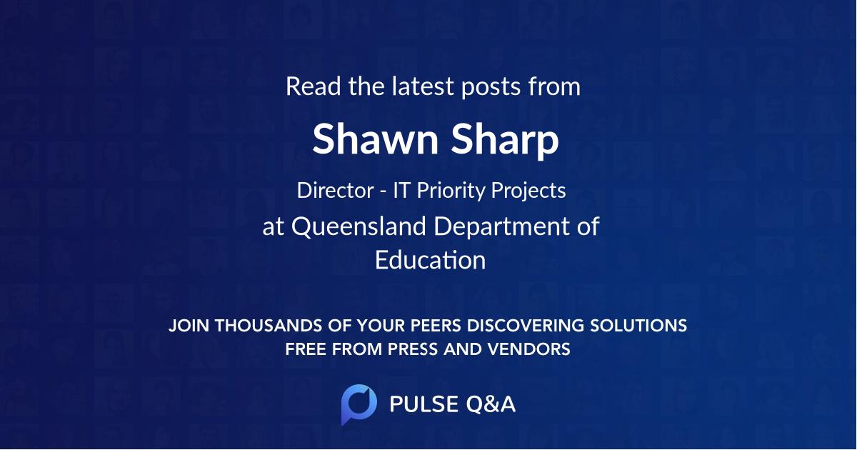 Shawn Sharp