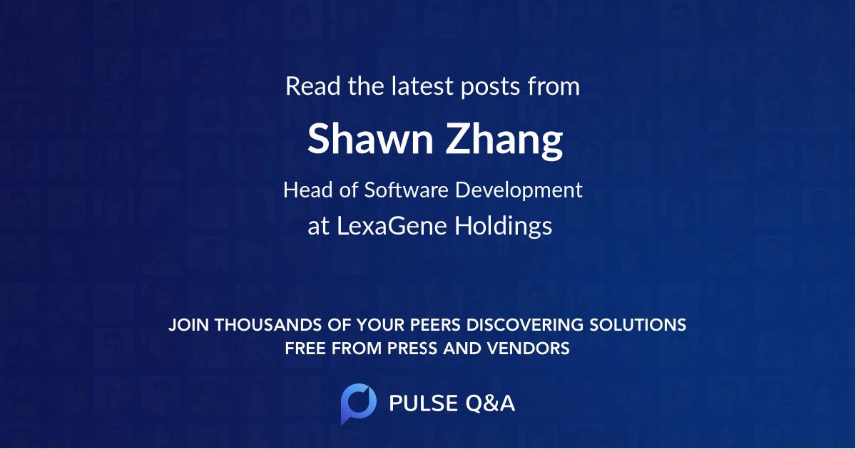 Shawn Zhang
