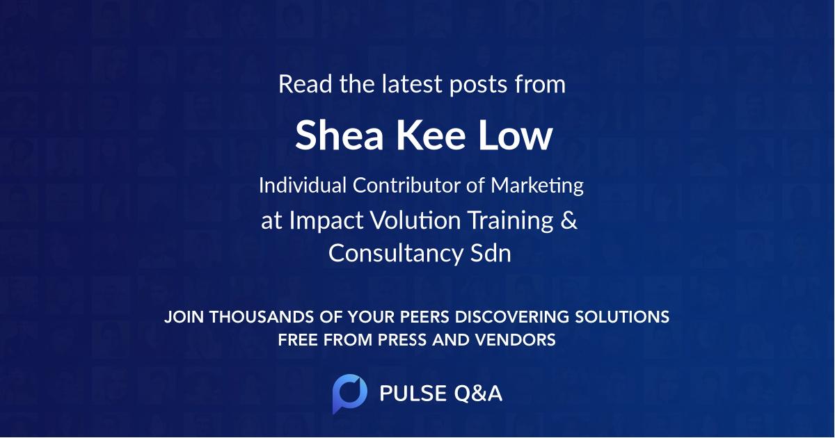 Shea Kee Low