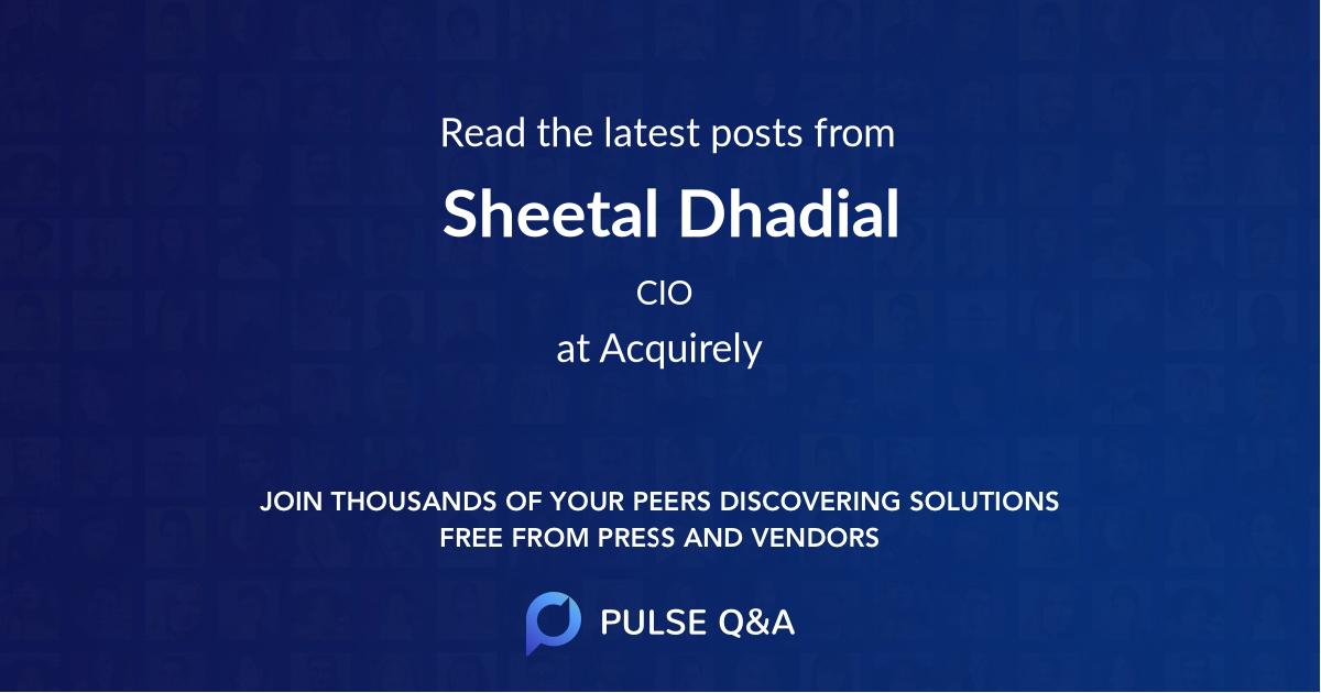 Sheetal Dhadial