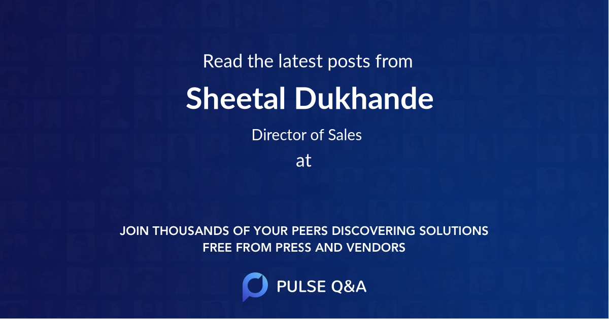 Sheetal Dukhande