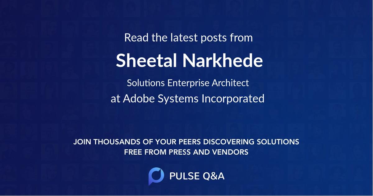 Sheetal Narkhede