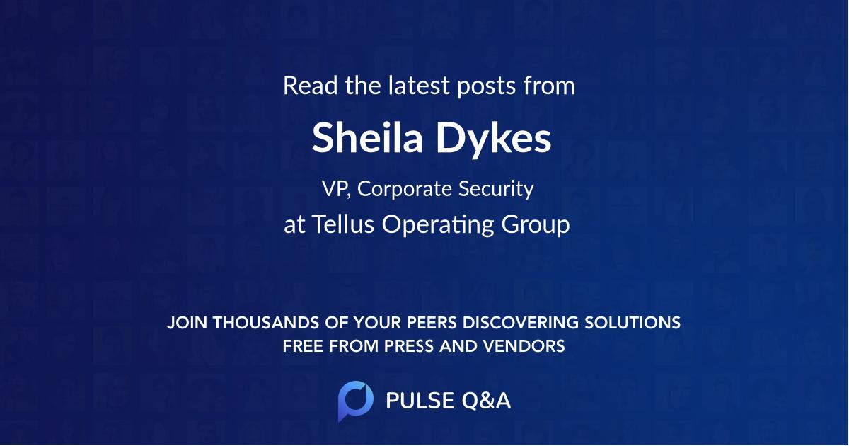 Sheila Dykes
