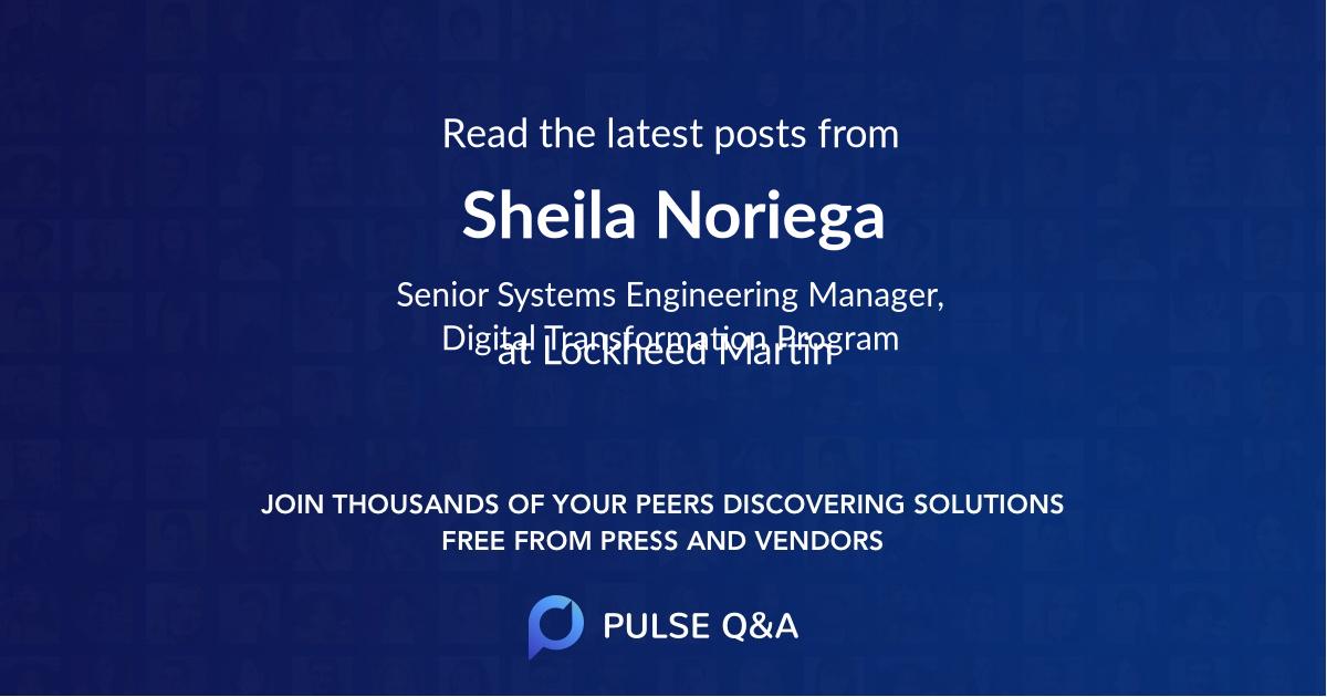 Sheila Noriega