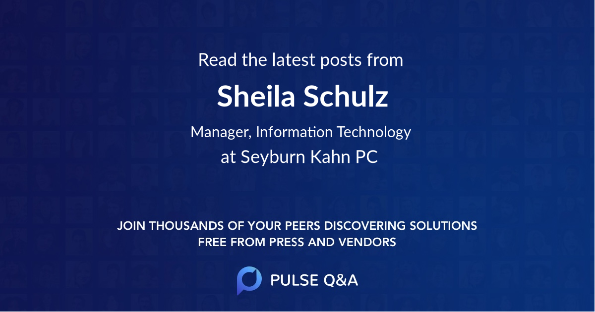 Sheila Schulz