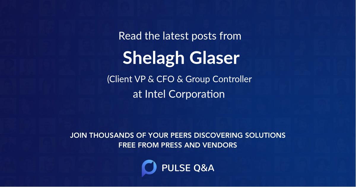 Shelagh Glaser