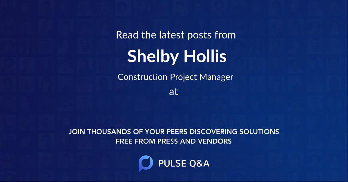Shelby Hollis