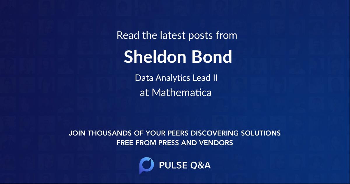 Sheldon Bond