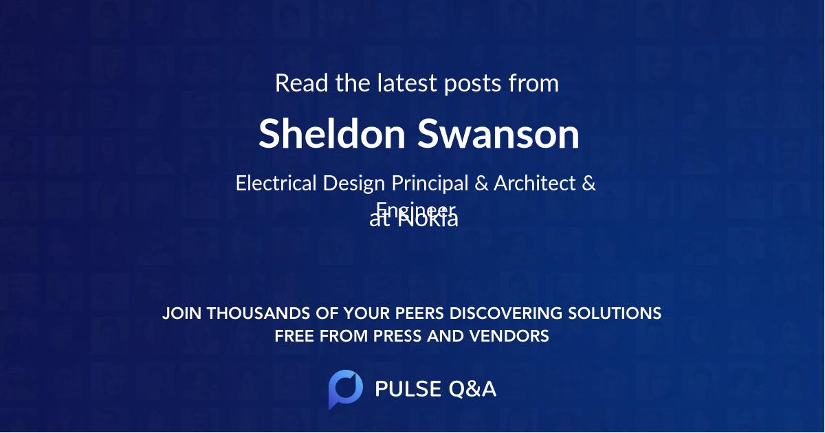Sheldon Swanson