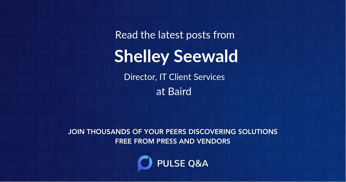 Shelley Seewald