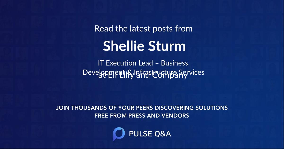 Shellie Sturm