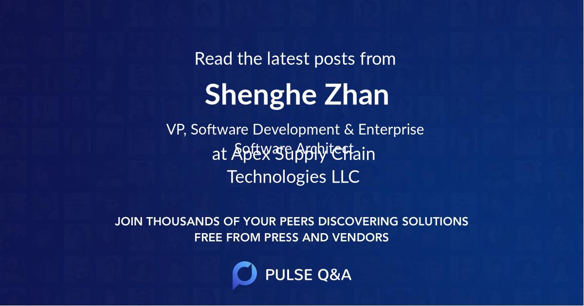 Shenghe Zhan