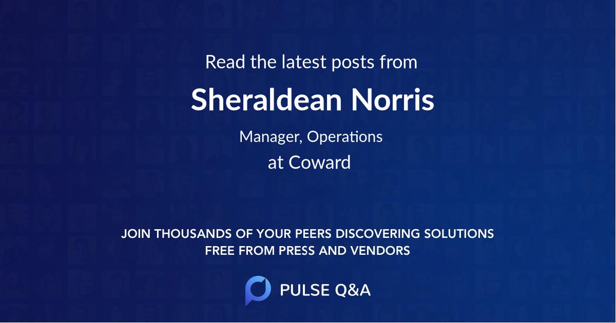 Sheraldean Norris