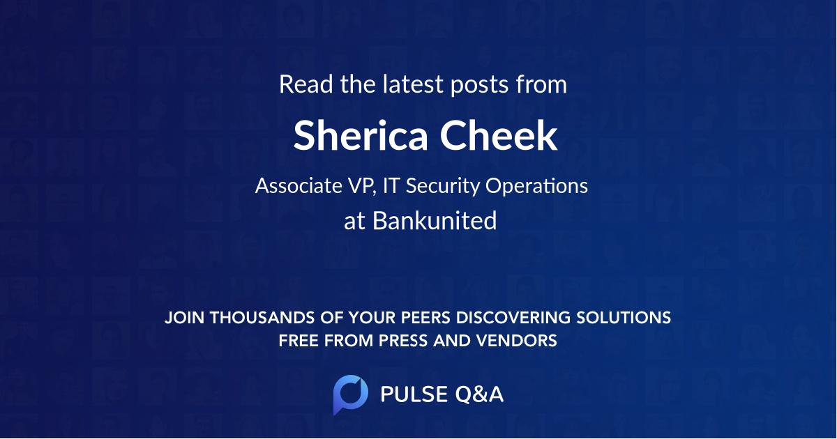 Sherica Cheek