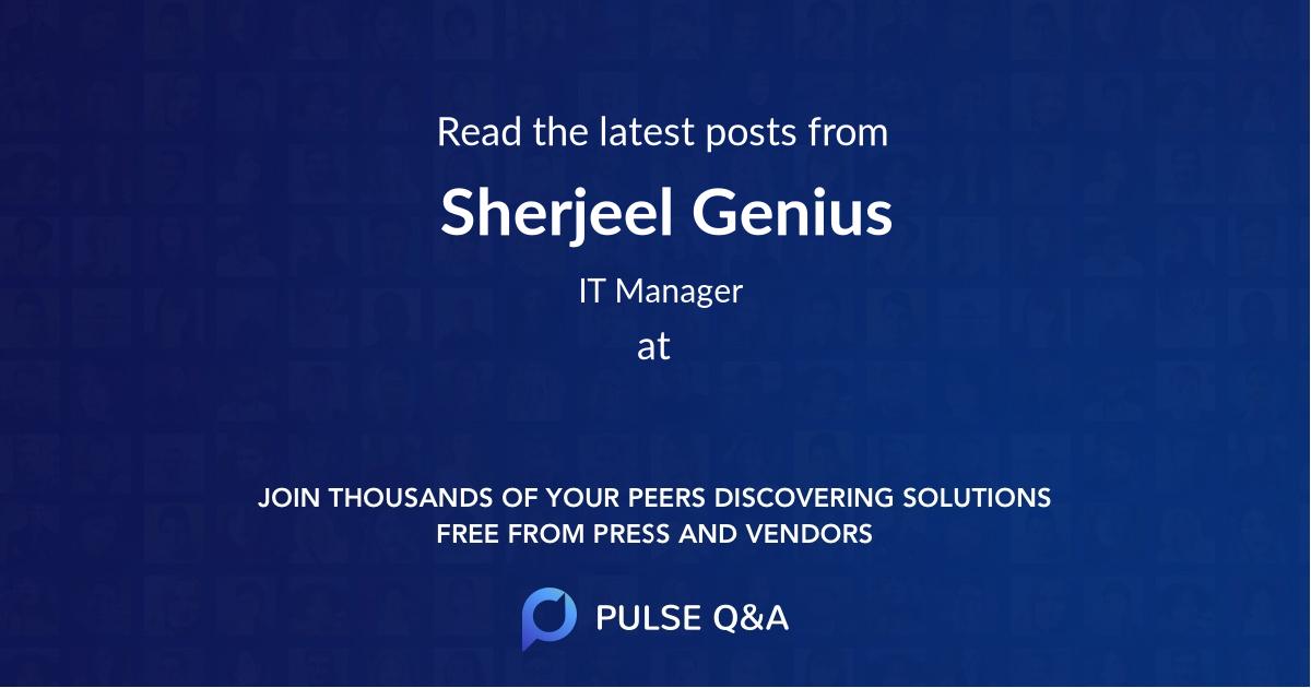 Sherjeel Genius