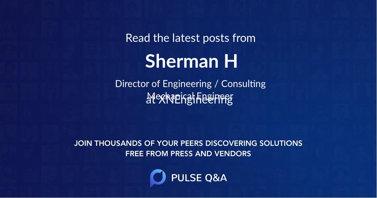 Sherman H. Watters II, P.E.