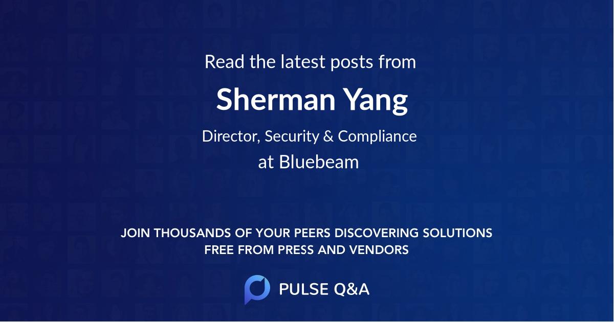 Sherman Yang