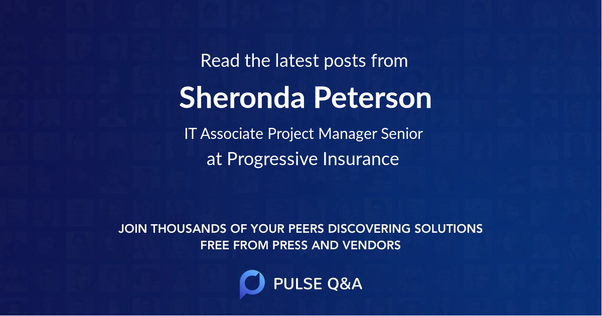 Sheronda Peterson