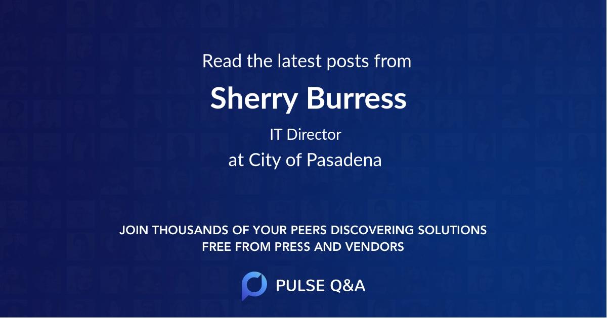 Sherry Burress