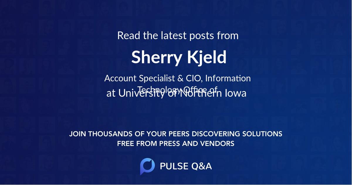 Sherry Kjeld