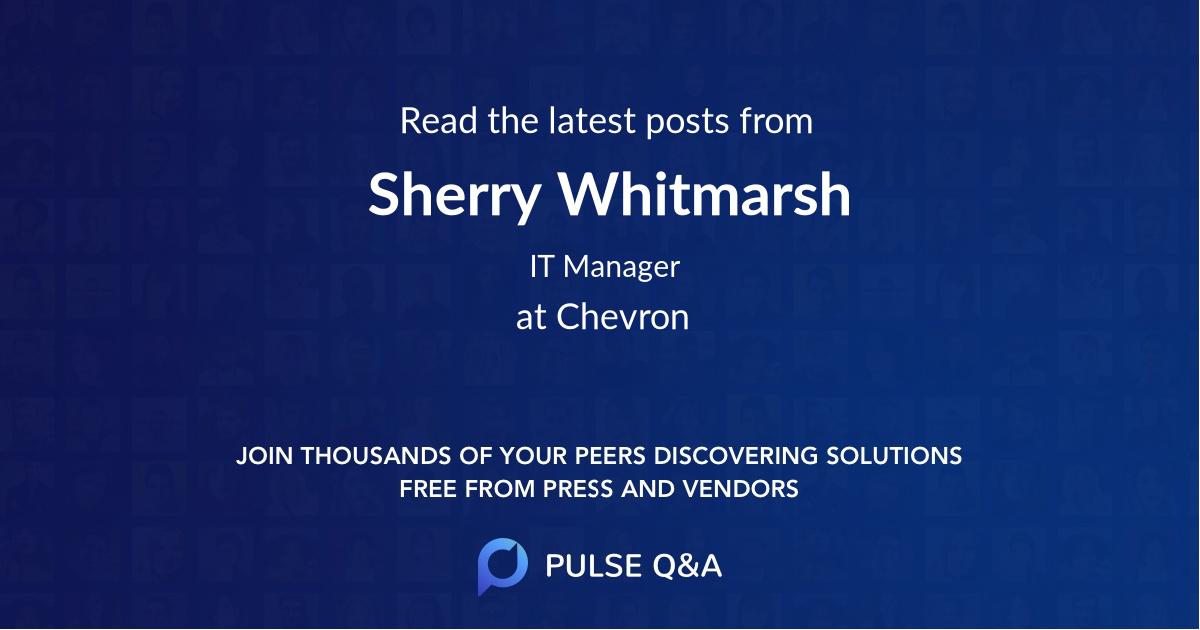 Sherry Whitmarsh