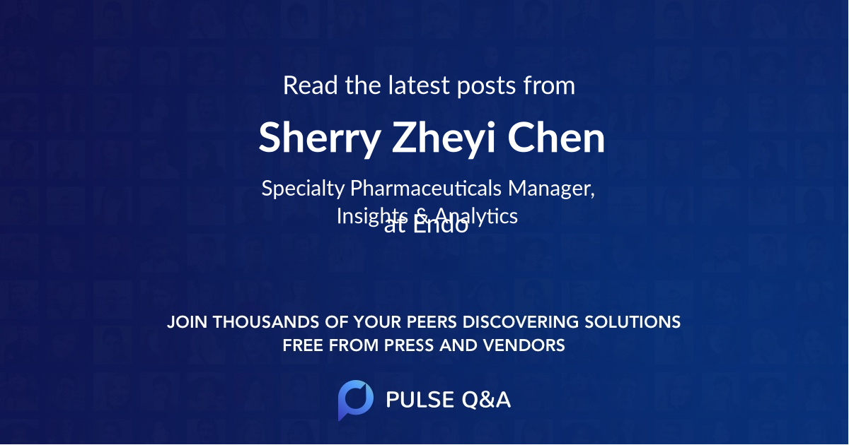 Sherry Zheyi Chen