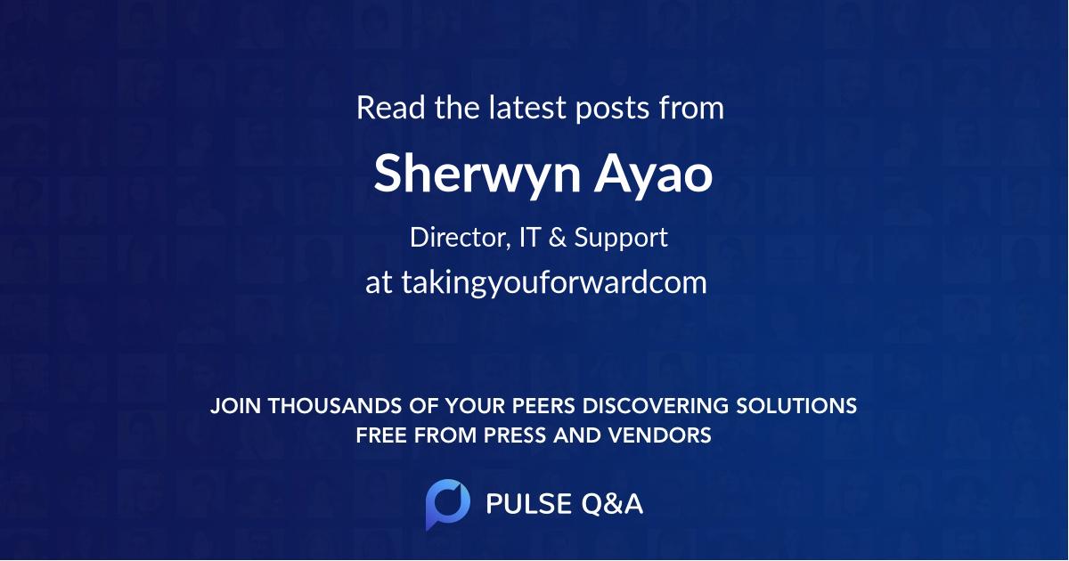 Sherwyn Ayao