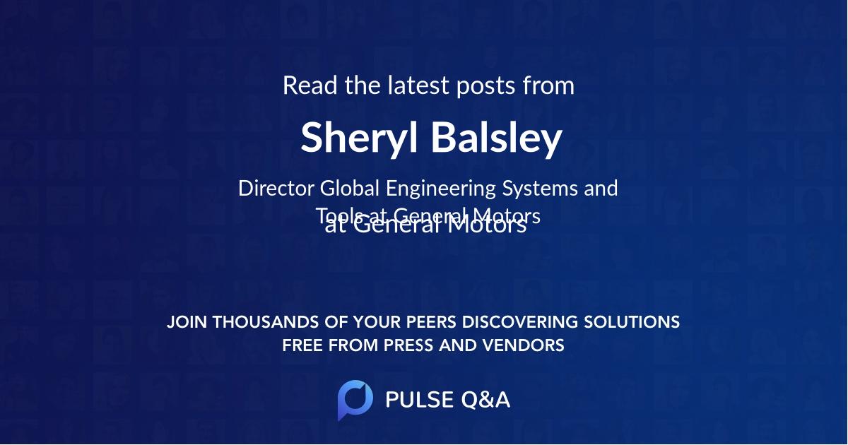 Sheryl Balsley