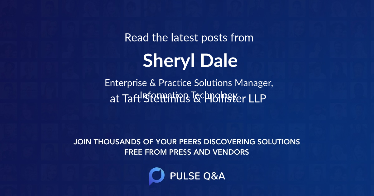 Sheryl Dale