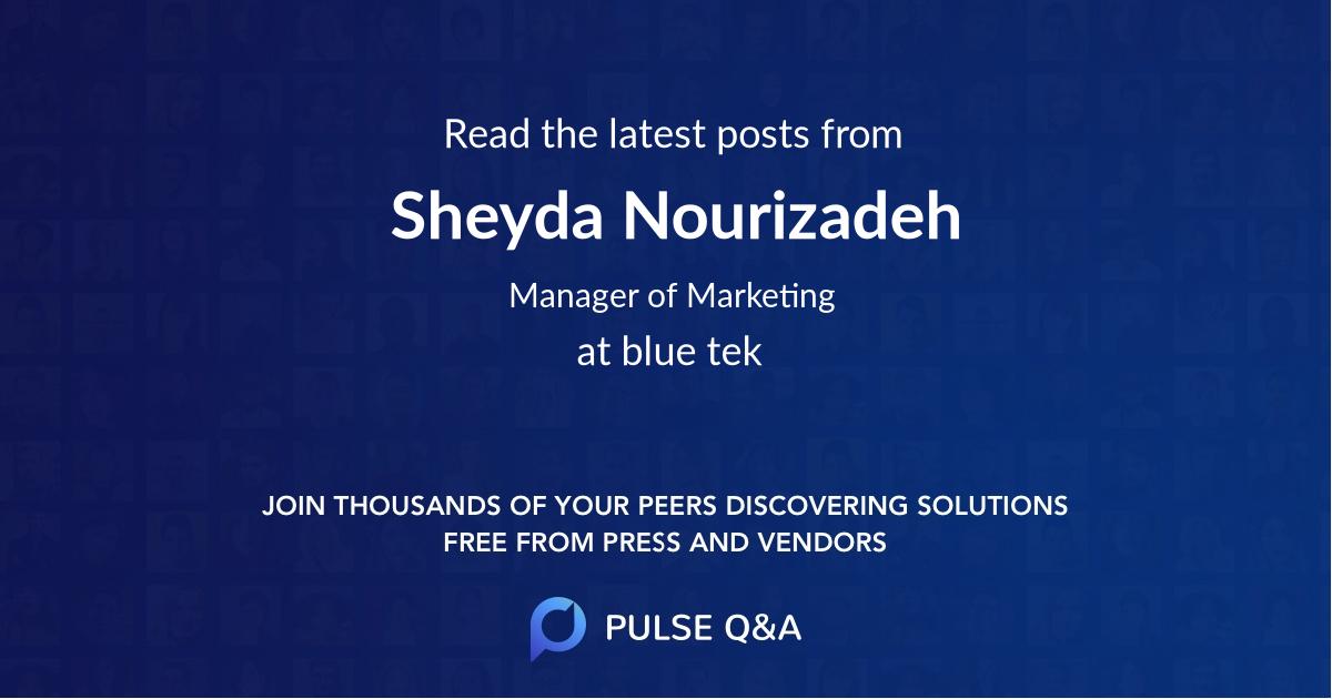 Sheyda Nourizadeh