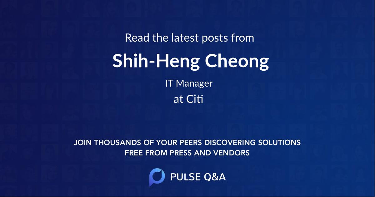 Shih-Heng Cheong