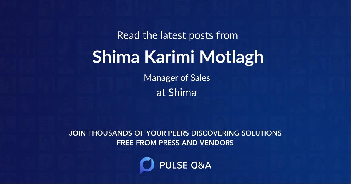 Shima Karimi Motlagh