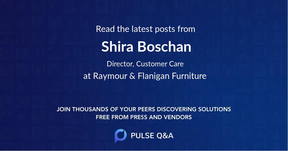 Shira Boschan