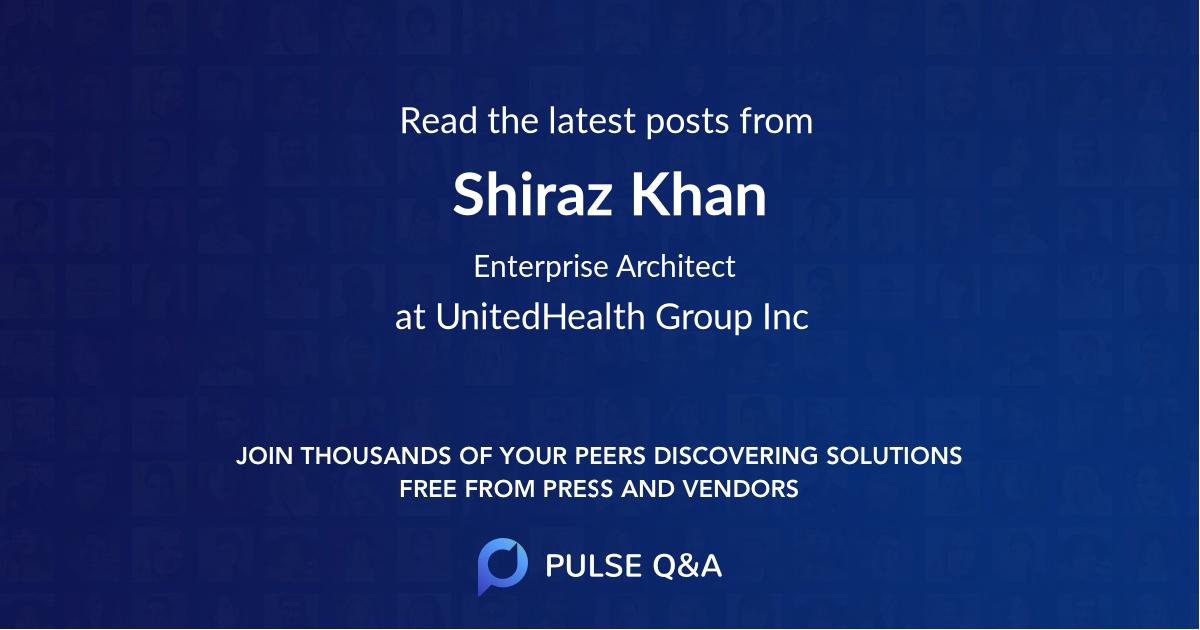 Shiraz Khan