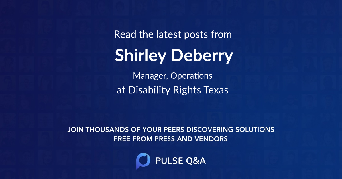 Shirley Deberry