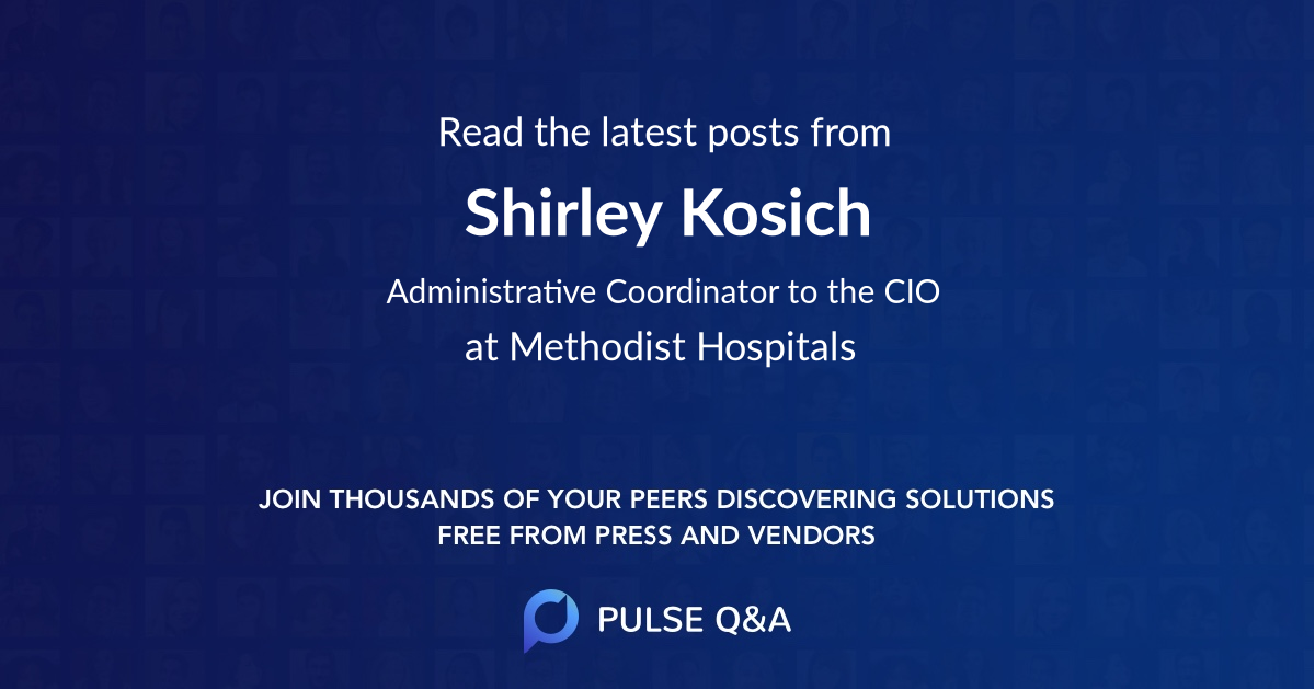 Shirley Kosich