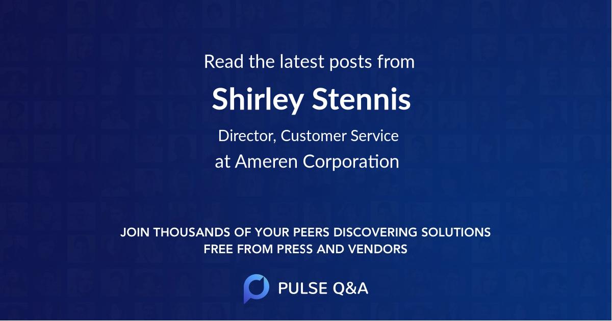 Shirley Stennis