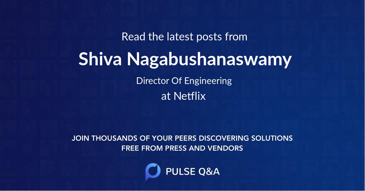 Shiva Nagabushanaswamy