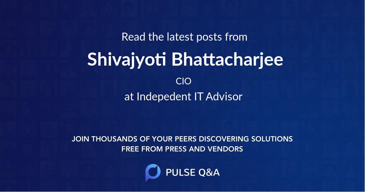 Shivajyoti Bhattacharjee