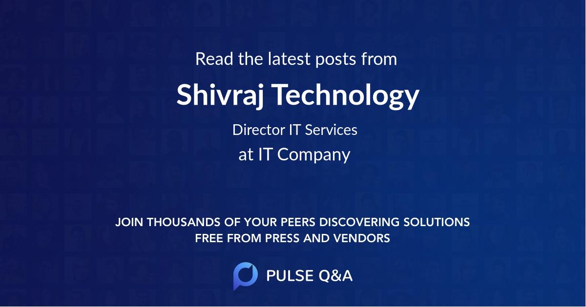 Shivraj Technology