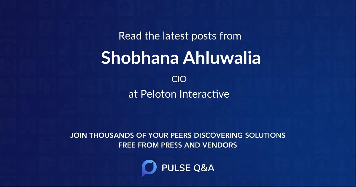 Shobhana Ahluwalia