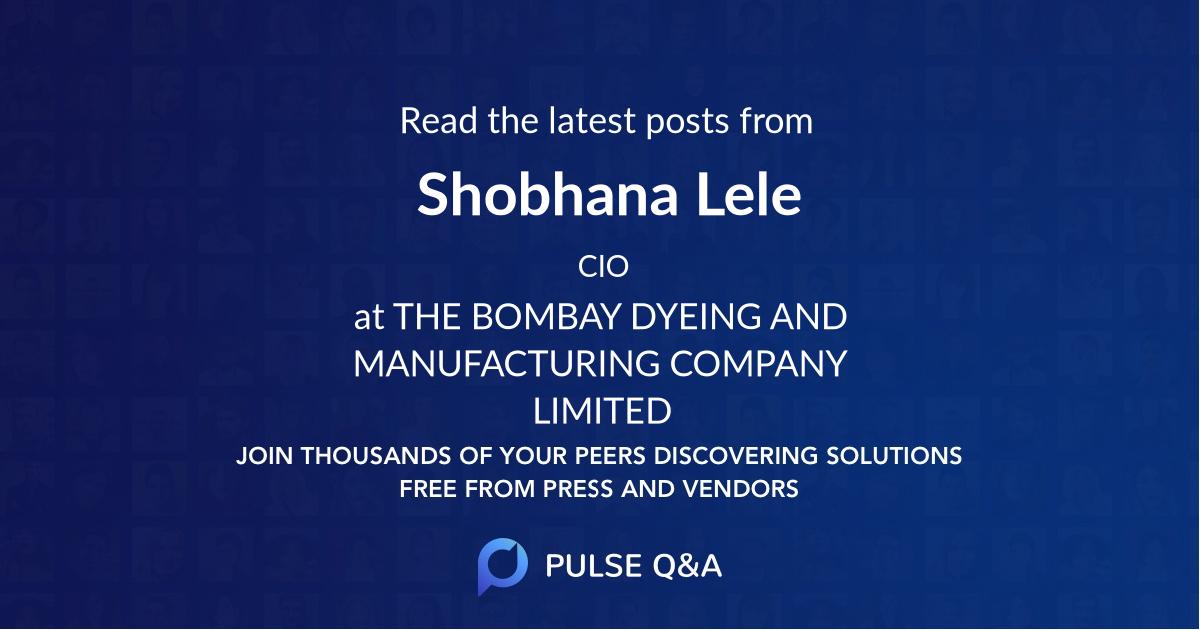 Shobhana Lele