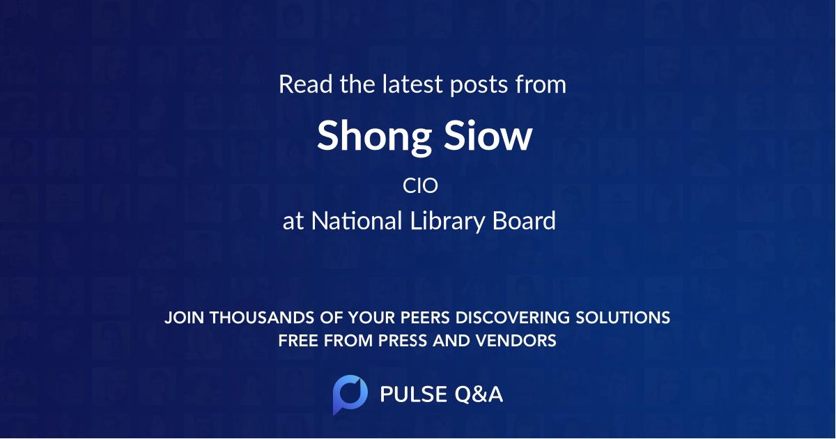 Shong Siow