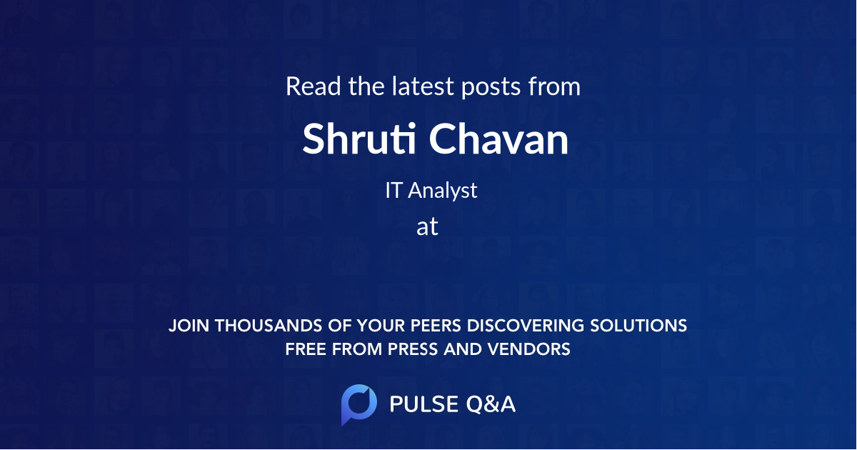Shruti Chavan