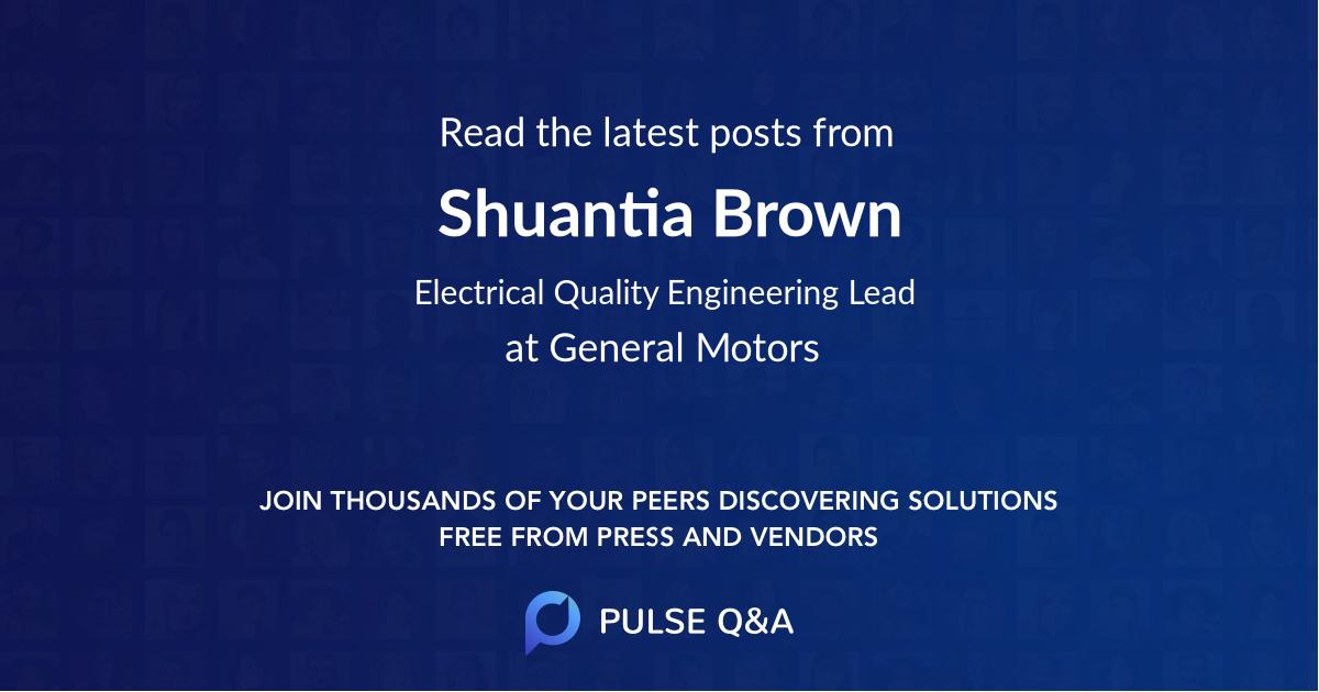 Shuantia Brown