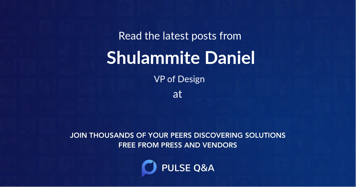 Shulammite Daniel