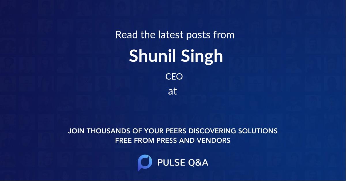 Shunil Singh